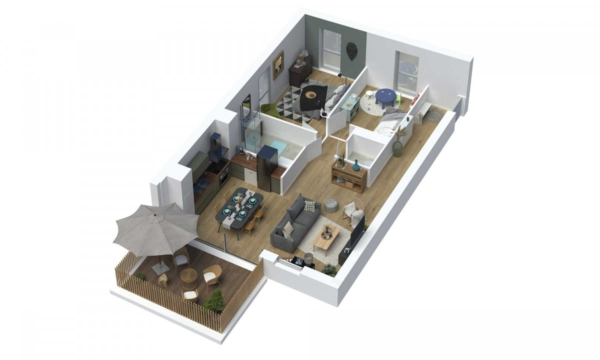 appartements neufs plan